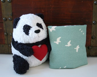 Organic, Fitted Crib Sheet, Mini Co-Sleeper, Co-Sleeper, Pack n Play, Mini Crib, Crib Sheet, Knit, Birds, Toddler Sheet