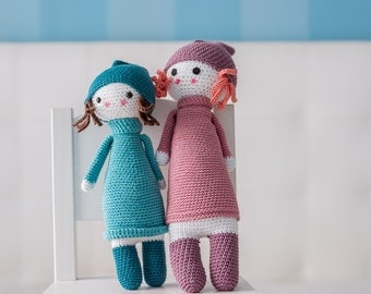 Amigurumi PATTERN - Doll #2 - CROCHET