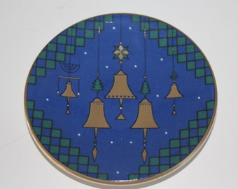 Vintage Christmas plate by Arabia Finland