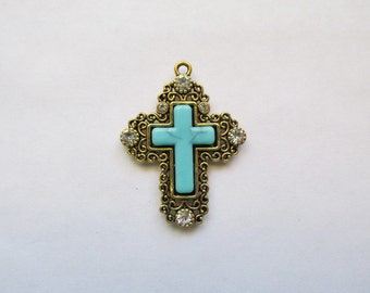 Cross Pendant Charm #CH7 (SET OF 2)