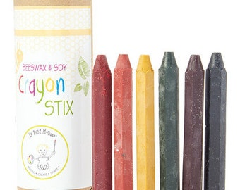 Hexagon Beeswax Crayons,  Soy Crayons and natural crayon
