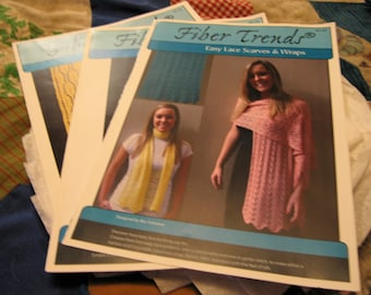 Set of Three (3) Fiber Trends Pattern Flyers - Knit