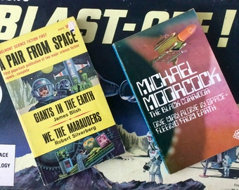 Two Space Trash  Paperbacks. A Pair From Space (1965.) & The Black Corridor (1970.)