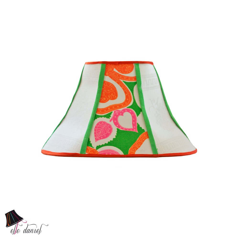 neon lamp shade retro lamp shades colorful lamp shades. Black Bedroom Furniture Sets. Home Design Ideas
