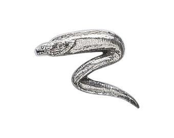 Pewter ~ Moray Eel ~ Lapel Pin/Brooch ~ S102,SC102,SP102