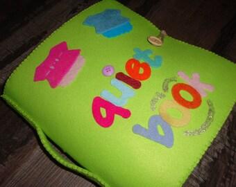 Quiet book per bambini 5-6 anni - 11 attività