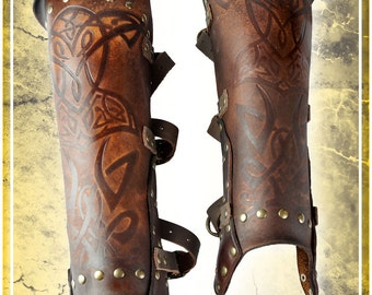 Viking Armor- Greaves