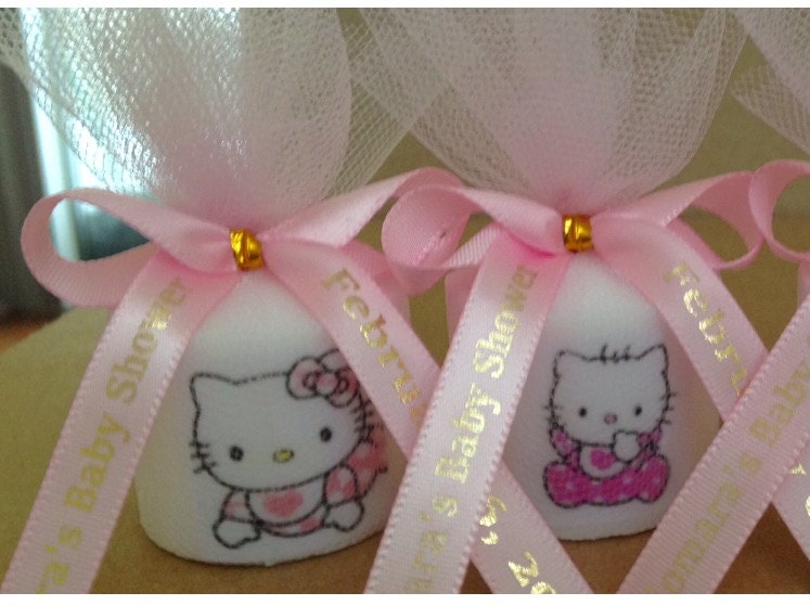 Baby Shower Favors Hello Kitty ~ Baby shower favors hello kitty candle
