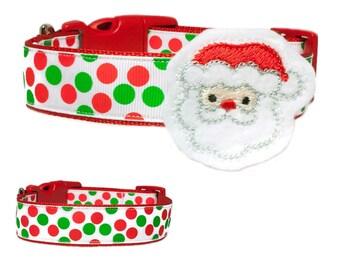 Christmas Santa Dog Collar Accessory
