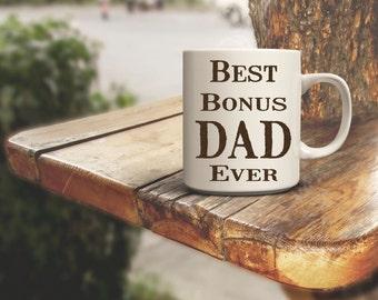 Best Bonus Dad Step Dad Ever Coffee Mug