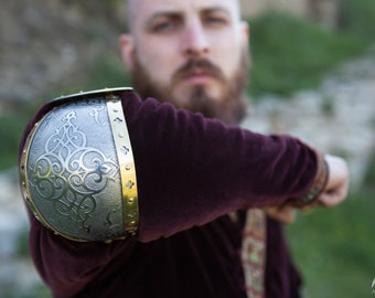 """20% DISCOUNT! Armor Arms Elbow Cops """"King of the East""""; Medieval Armor; Armour"""