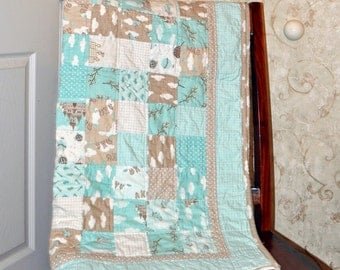 Simple Squares  Baby Quilt Pattern