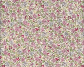Floral (312689 col A ) from the Yuwa Lawn 60 Live Life  Collection