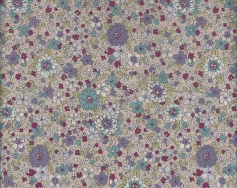 Floral (312691 Col A ) from the Yuwa Lawn 60 Live Life  Collection