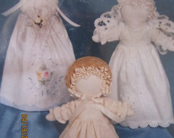 Linen Ladies Doll Patterns