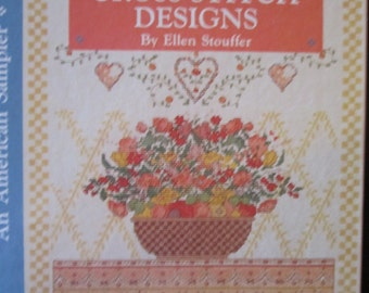 Country Cross-Stitch Designs-An American Sampler 1990