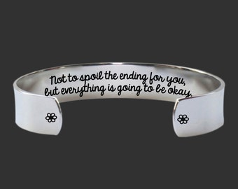 Inspirational Jewelry | Gifts for Friends | Teen Gifts | Daughter Gift | Sister Gifts | Not to spoil the ending... Bracelet Korena Loves