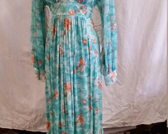 Fun 1970s Maxi Dress