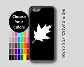 Simple Oak Leaf iPhone Case, Leaf iPhone Case, Oak Leaf iPhone 6 Case, iPhone 6s Case, iPhone 7 Case, Phone Case, Edge Case, SE Case