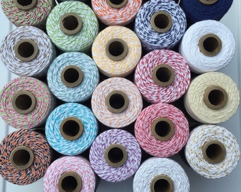 Divine Twine Baker's Twine Cotton Twine  Choose Number of Yards