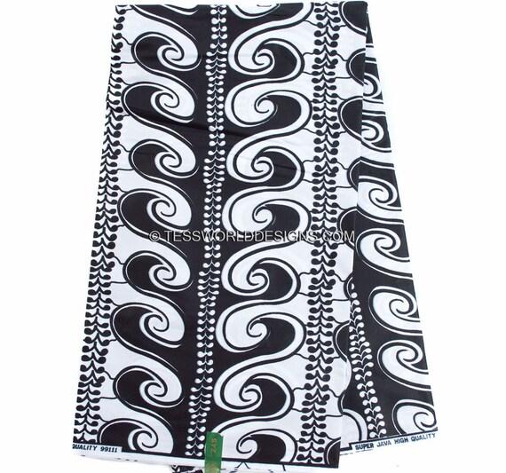 Wholesale black and white wax print fabric ankara fabric wax for Cheap black and white prints