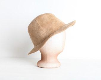 Vintage Tan Fedora Hat