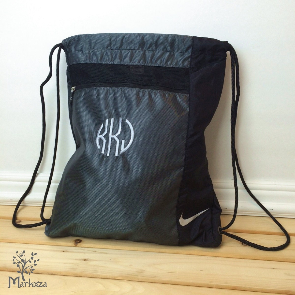 10 Personalized Nike Cinch Bags Cinch Backpack Custom