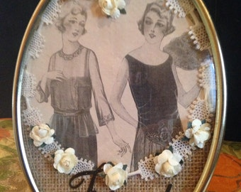 "Vintage ""Friends"" Framed Collage!"