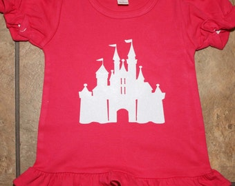 Castle Ruffle t Shirt