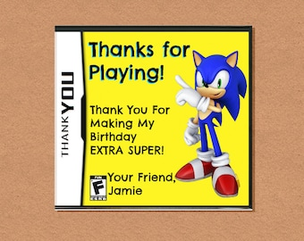 DIY Printable Video Game Thank You, Video Game Party, Gamer Birthday Party, Video Game Birthday, Customizable Invitation