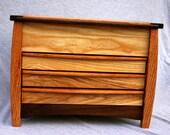Ash 4 Compartment Jewelry Box