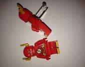 Superhero Lego Cufflinks - The Flash