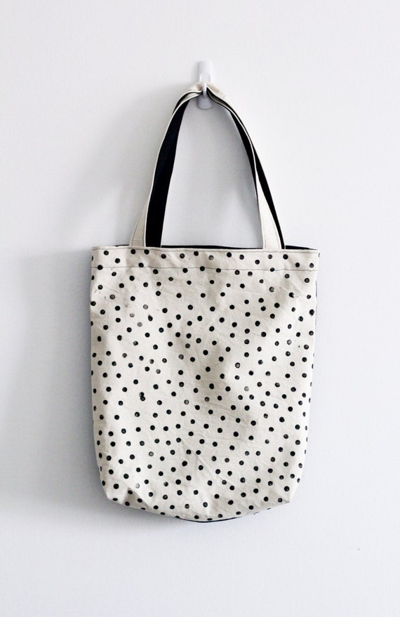 Polka Dot Tote from Mulberry & June