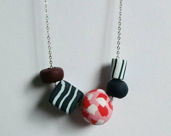Polymer necklace