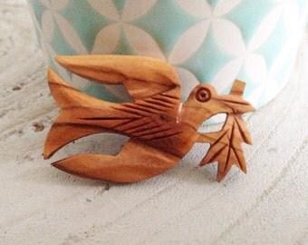 Bird brooche