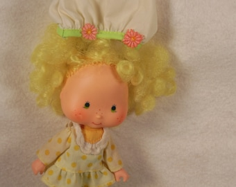 Vintage Strawberry Shortcake Doll-Lemon Meringue-All Original-American Greetings-1979-