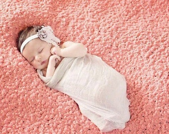 Newborn wrap, cheesecloth wrap, baby photography prop, cheesecloth, small wrap