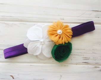 THeadband, newborn , baby headband, mardi gras, newborn photography