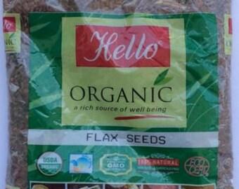 USDA Organic FLAX SEEDS 250 g Pack. Free Shipping