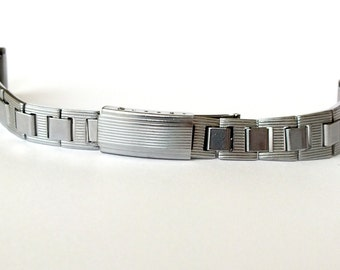 Watch Strap 16mm NOS. Vintage Stainless Steel Bracelet From Soviet Times