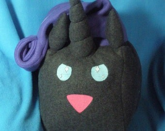 My Little Pony Nightmare Rarity Sugar Cube Plushie