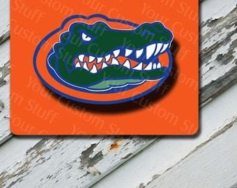 Mousepad Orange Florida GATORS Design on Mousepad