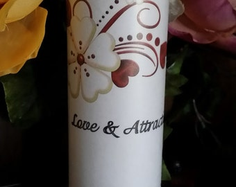 Love and Attraction, 7 day, Candle,Altar, Ritul, Wiccan, Hoodoo, Voodoo, Pagan