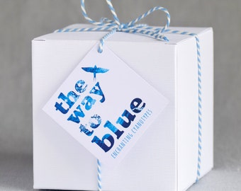 Gift Box for Tealight Holders by 'The Way to Blue'