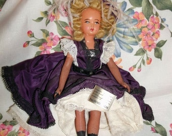 French CanCan Costume Collector Doll
