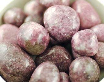 Lepidolite - Purple Lepidolite - Tumbled Lepidolite - Lavender Tumbled Lepidolite - African Lepidolite - Lavender Lepidolite