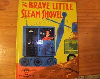 VINTAGE WONDER BOOK The Brave Little Steam Shovel
