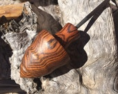 "Bocote ""bullet"" spindle top"