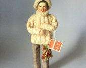 Vintage Collector Aran Fisherman Jay Character Doll Handmade Dublin Ireland