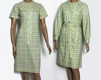 Vintage dress matching coat – Etsy